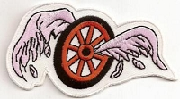 Broken Wing (Pink Wing) Patch 2x3.75