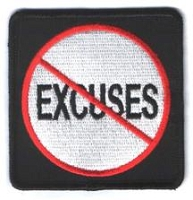 No Excuses Patch 3x3