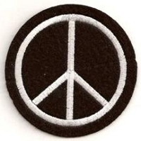 Peace Sign Patch 2.75