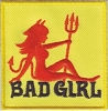 Bad Girl Patch 2.5 x 2.5
