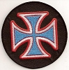 Iron Cross Blue Patch 3