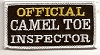 Official Camel Toe Inspector Patch 1.5 x 3