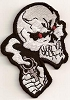 Skull With Revolver Patch 3