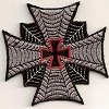 Iron Cross with Red Center Cross Patch 3