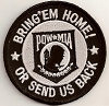 Bring'em Home Or Send Us Back POW Patch 3