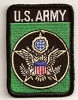 US Army Green Patch 2x3