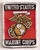 US Marine Corps Patch 3x2