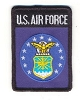 US Air Force Patch 2x3