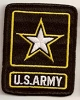 US Army Black Patch 2x3
