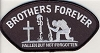 Brothers Forever Patch 3x5