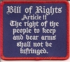 Bill Of Rights Article II The right of the people to keep and bear arms 3.5