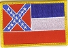 Mississippi Flag Patch 2x3