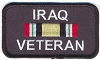 Iraq Veteran Patch 3.5x2