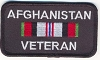 Afghanistan Veteran Patch 3.5x2