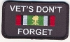 Vets Don't Forget - Desert Storm Saudi Patch