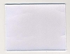Blank Patch 6x4.75 White Background White Border With Heat