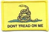 Don't Tread On Me Patch 3x2
