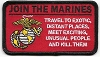 Join The Marines Patch 4x2.25