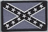 Confederate Battle Flag Subdued Patch 3.5 x 2.25