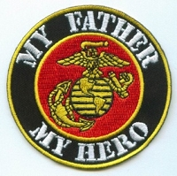 My Father My Hero Marine Patch 3