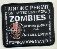ZOMBIE Hunting Permit Patch 3.5