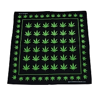 Small Green Leaves Bandana