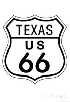 Texas Route 66 Vest / Hat pin
