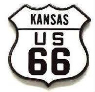 Kansas Route 66 Vest / Hat pin
