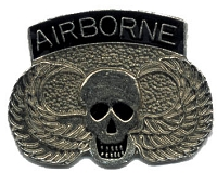 AIRBORNE WITH SKILLS AND WINGS VEST / HAT PIN