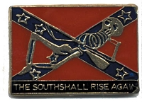 SOUTH SHALL RISE AGAIN HAT / VEST PIN