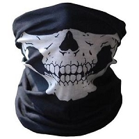 Skull Face and Neck Mask Seamless