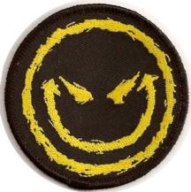 "Evil Smiley Face 3"" Patch"