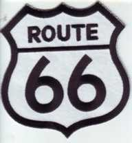 Route 66 Patch 3.5x3.4