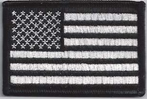 US Flag Subdued Patch 3.5 x 2.25