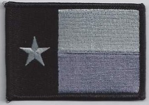 Texas Flag Subdued Patch 3.5x2.25