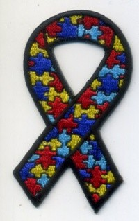 Autism Awareness Patch 3""