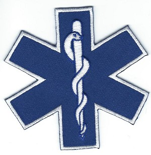 "Star of Life 3.5"" with heat seal"