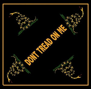 "Gadsden ""Don't Tread on Me"" Bandana"