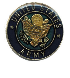US Army Hat / Vest Pin