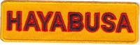 HAYBUSA Patch 1x3.5