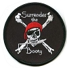 Surrender the Booty Pirate Skull Patch 3