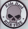 Ride Hard Ride Free Patch 3