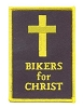 Bikers For Christ Patch 4x2