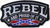 Rebel and Proud of It Patch 4.5 x 2.5