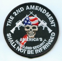 The Second Amendment Shall Not Be Infringed Patch  3.5