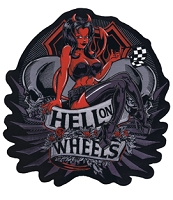 Hell on Wheels Patch Approx 11x12