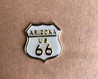 Arizona Route 66 Hat/Vest Pin